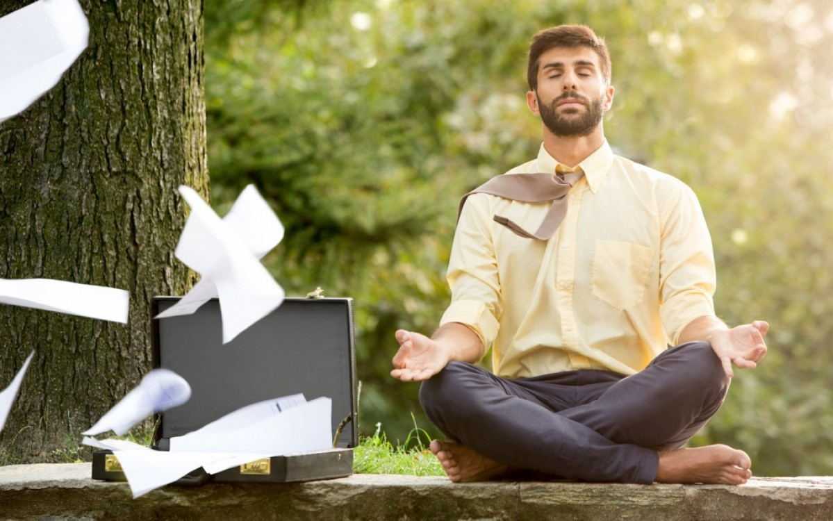 meditatie tijdens werk