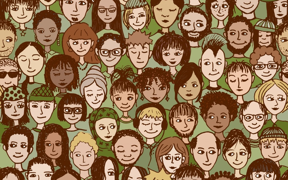 Mensen maatschappij inclusie