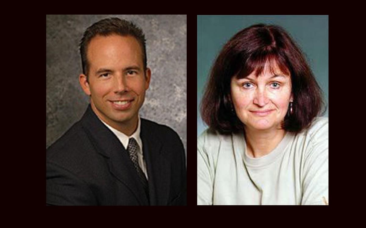Mel Fugate and Denise Rousseau