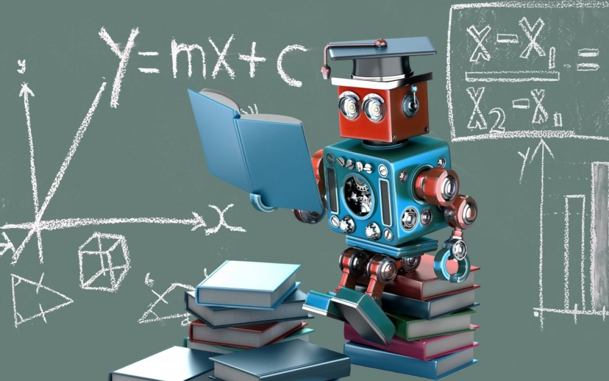 machine learning school robot