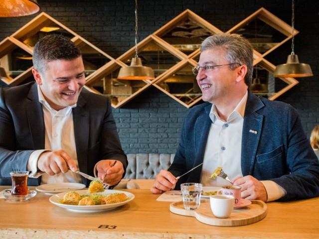Ahmet Can en Gürkan Çelik - foto Pepijn Nuiten