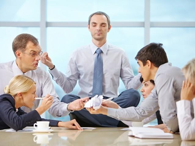 conflict kantoor office team