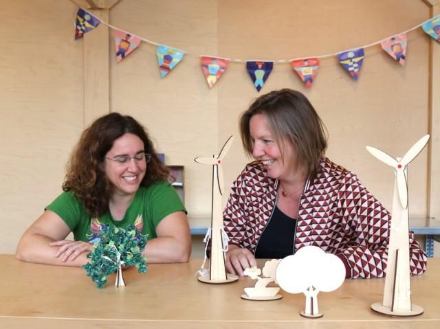 Maakplaats 021 - docenten Suzanne en Neeltje