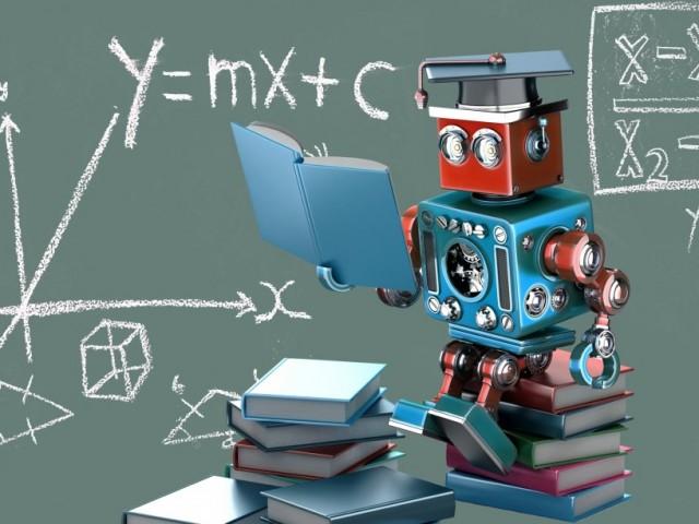 machine learning school robot