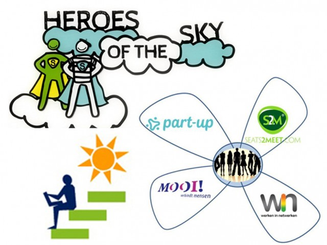 Werken in Netwerken, ZomerOndernemer en Heroes of the Sky