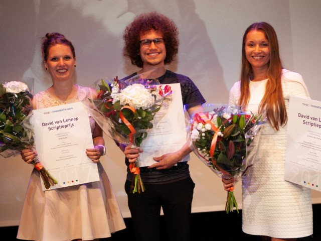 Scriptieprijs winnaars Anka, Yuri, Anneke