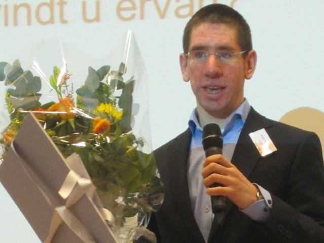 Scriptieprijs winnaar Maxim Laurijssen